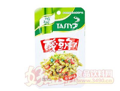 洞庭仙草香辣味酸豆角38克