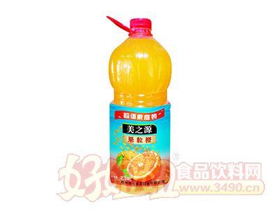 美之源果粒橙2.58L×6瓶