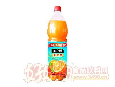 美之源果粒橙1.8L×6瓶