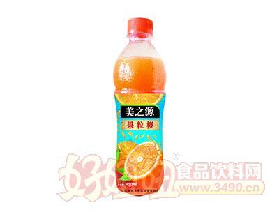 美之源果粒橙450ml×15瓶
