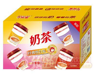 可利客奶茶经典组合装80克x30杯