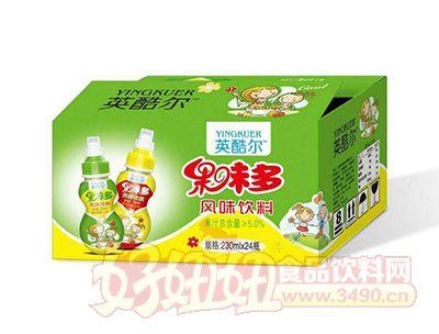 英酷尔果味多风味饮料230mlx24瓶