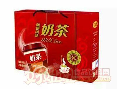 喜多力杭州风味奶茶