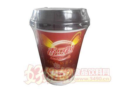 喜多力香豆粒红豆奶茶