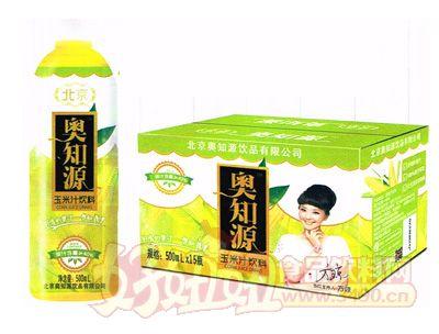 �W知源玉米汁�料500mlx15瓶