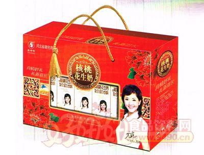 沃典核桃花生奶250mlx10盒