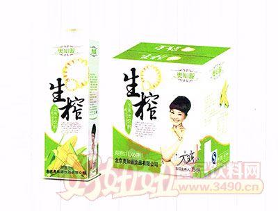 奥知源生榨玉米汁饮料1L