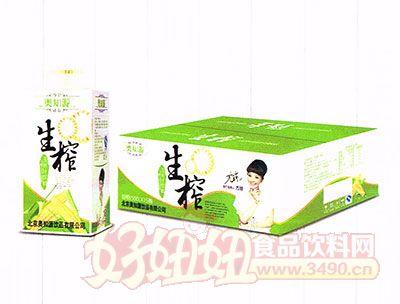 奥知源生榨玉米汁饮料500ml