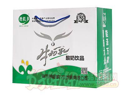 慧能多牛初乳酸奶饮品486ml×10盒白金装礼盒手提袋