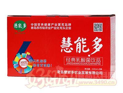 慧能多乳酸菌饮品330ml×8瓶礼盒
