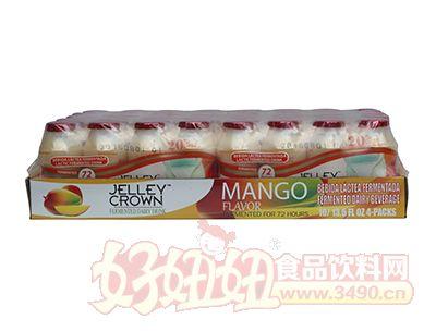 捷利冠芒果味乳酸菌饮品100ml×40瓶