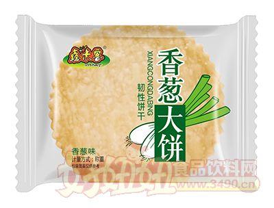 鑫米客香葱味香葱大饼韧性饼干称重