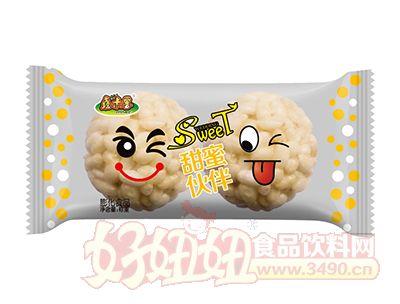 鑫米客甜蜜伙伴膨化食品(黄)称重