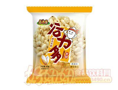 鑫米客谷力多米饼芝麻味膨化食品称重