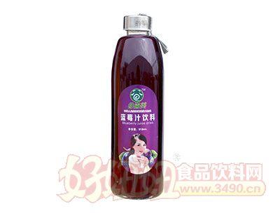谷尚美蓝莓汁饮料918毫升