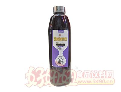 首一蓝莓汁1L