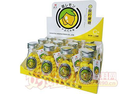 清一口酸柠檬糖56g×12小瓶×12彩盒