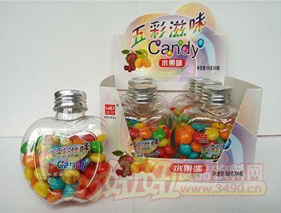 维派五彩滋味水果味五彩糖58g×6小瓶×12彩盒