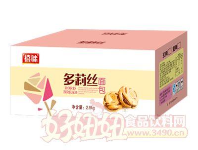 福建龙海禧味多莉丝面包箱装2.5kg