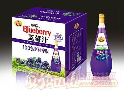 喜事多蓝莓汁1.5lx6瓶