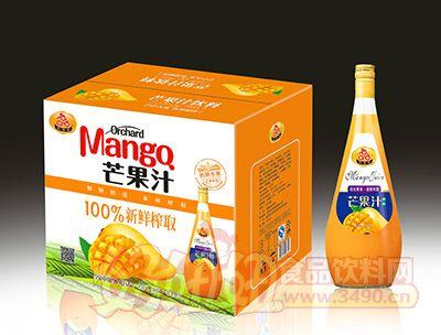 喜事多芒果汁1.5lx6瓶