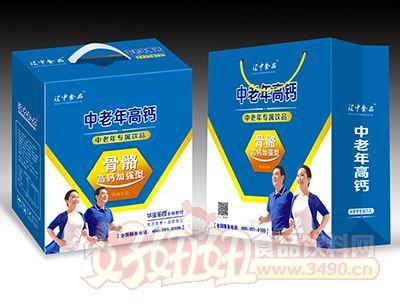 江中食品中老年高钙饮品250mlx12盒