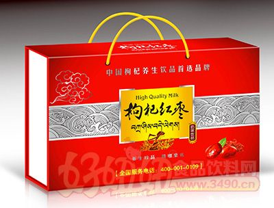 喜事多枸杞红枣饮品250mlx12盒