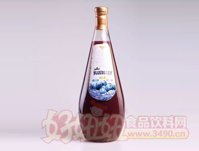 台中实业蓝莓果汁饮品1.5L