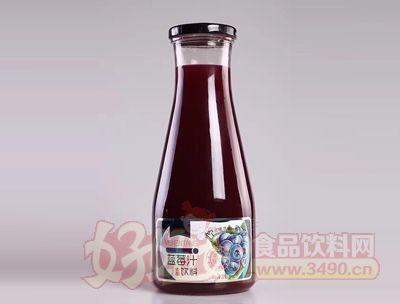 台中实业蓝莓汁饮料1L