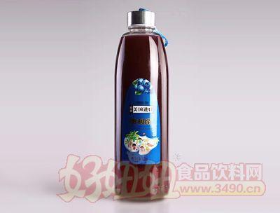 原浆美国进口澳利缘蓝莓果汁920ml