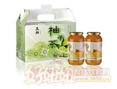 真鲜柚子茶冲调饮品