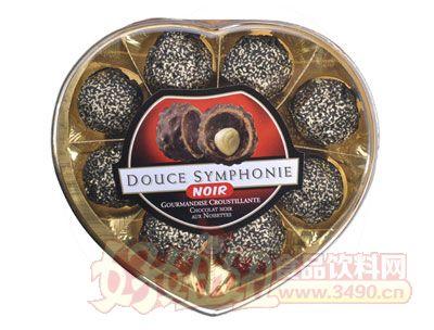 圣托尼臻果威化黑巧克力(心型)