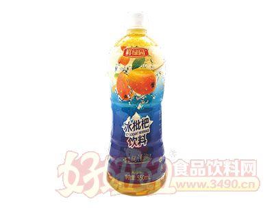 鲜绿园冰枇杷饮料550ml