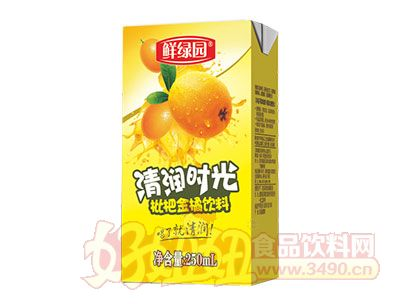 鲜绿园枇杷金橘饮料250ml