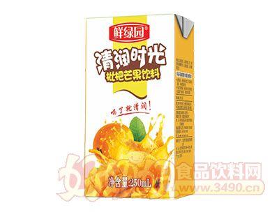 鲜绿园枇杷芒果饮料250ml