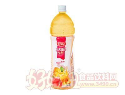 鲜绿园枇杷蜜桃饮料1.5L(10%)