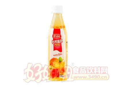 鲜绿园枇杷蜜桃饮料450ml