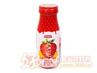 鲜绿园枇杷+草莓280ml