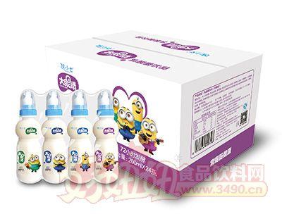 张小七大眼睛乳酸菌饮品200mlx14瓶箱装