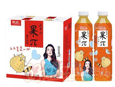 源农果π菠萝汁饮料1lx8瓶