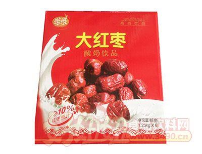 维维大红枣酸奶饮品1.25kg×6瓶