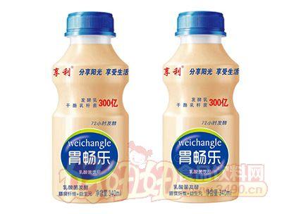 享利胃畅乐乳酸菌饮品340ml