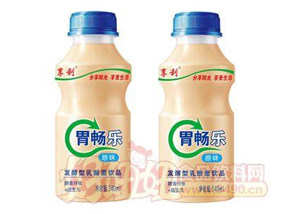 享利胃畅乐原味乳酸菌饮品340ml