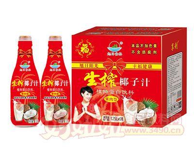 旭日生榨椰子汁1.25lx6瓶