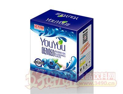 蓝知魅野生蓝莓果汁饮料礼箱