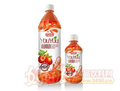 山楂哥野山楂果汁饮料1l