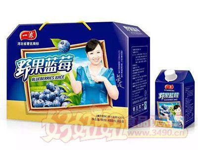 一浓枸杞蓝莓488mlx6盒礼盒
