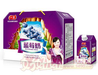 一浓蓝莓奶488mlx6盒