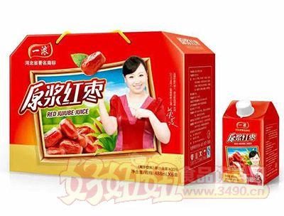 一浓原浆红枣488mlx6盒