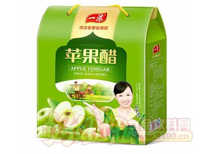 一浓苹果醋488mlx6盒礼盒
